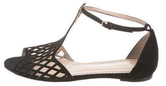 Charlotte Olympia Cutout Ankle Strap Sandals
