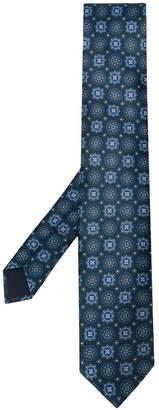 Corneliani printed pointed-tip tie