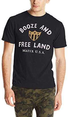 Matix Clothing Company Men's Boozeland T-Shirt
