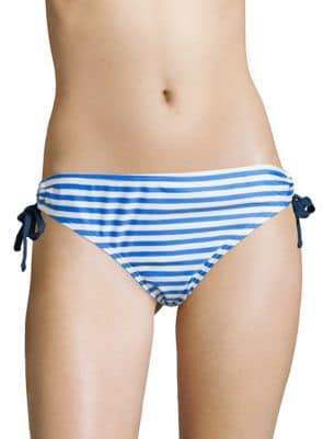 Next Stripe Drawstring Bikini Bottom