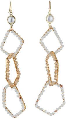 Nakamol Mother-of-Pearl & 3-Tier Earrings