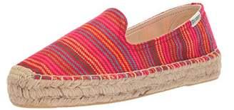 Soludos Women's Stripe Smkg Slipper Platform
