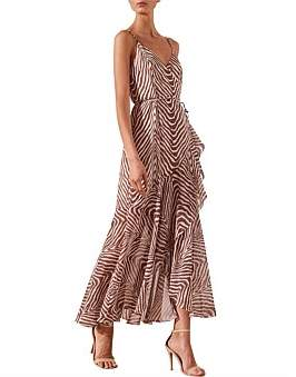Shona Joy Benita Cocktail Wrap Dress