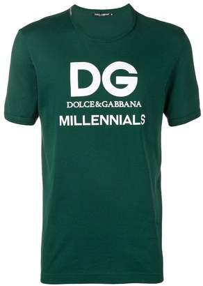 Dolce & Gabbana Millennials printed T-shirt