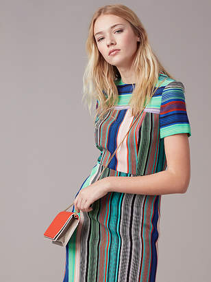 Short-Sleeve Tailored Dress