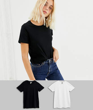 ae3fddbe40e Asos Design DESIGN ultimate t-shirt with crew neck in 2 pack SAVE