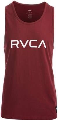 RVCA Men's Big Logo-Print Mesh Tank
