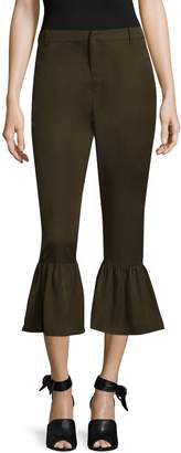 Lucca Couture Women's Amber Trumpet Crop Pants