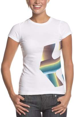 Etnies Womens Icon-Fade Basic Graphic T-Shirt Xl