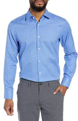 BOSS Marley Sharp Fit Check Dress Shirt