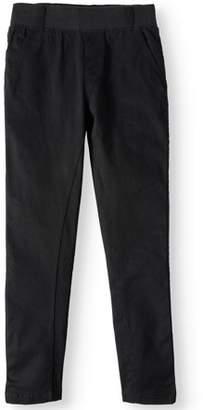 Beverly Hills Polo Club Big Boys' Stretch Twill Slim Roll Cuff Jogger Pant
