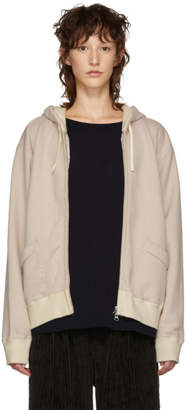 Chimala Beige French Terry Hoodie