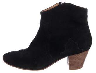 Etoile Isabel Marant Suede Ankle Booties