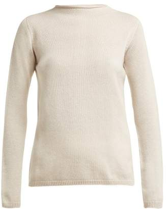 Max Mara S Oglio Sweater - Womens - Light Grey