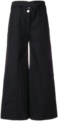 Eudon Choi tailored cropped palazzo trousers