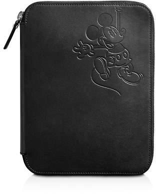 Shinola x Disney Leather Tech Portfolio