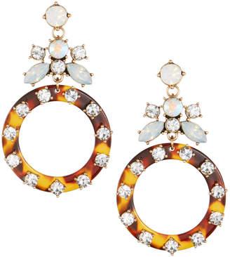 Fragments for Neiman Marcus Tortoise Shell Drop Earrings
