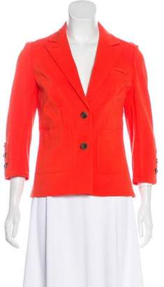 Diane von Furstenberg Teddy Button-Up Blazer