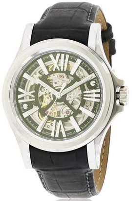 Bulova AccuSwiss Kirkwood Leather Automatic Mens Watch 63A122