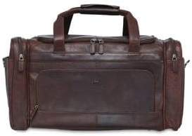 Buffalo David Bitton Mancini Carry-On Leather Duffel Bag