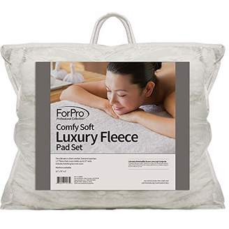 ForPro Comfy Soft Luxury Fleece Pad Set