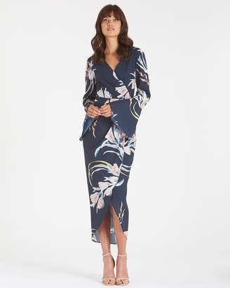Floral Orient Print Dress