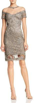 Tadashi Shoji Illusion Lace Dress - 100% Exclusive