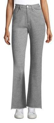 Rag & Bone Justine Wide Leg Cotton Sweatpants