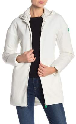 Save The Duck Solid Front Zip Jacket