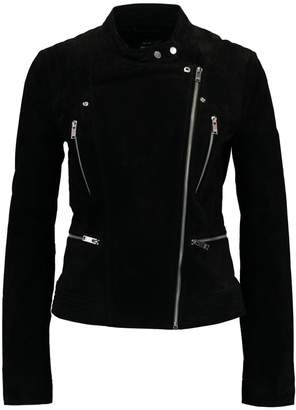 Only ONLAIDA Leather jacket black