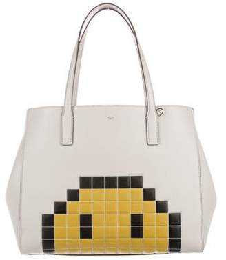 Anya Hindmarch Ebury Shopper Pixel Smiley Tote w/ Tags