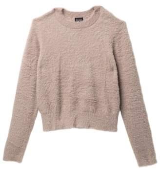 Free Press Fluffy Long Sleeve Sweater