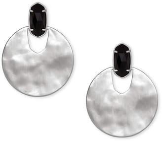 Kendra Scott Deena Silver Statement Earrings