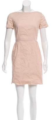Miu Miu Short Sleeve Mini Dress