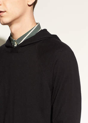 Vince Wool and Cashmere Pullover Hoodie