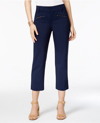 Style & Co Riveted Capri Pants, Only at Macy's $49.50 thestylecure.com