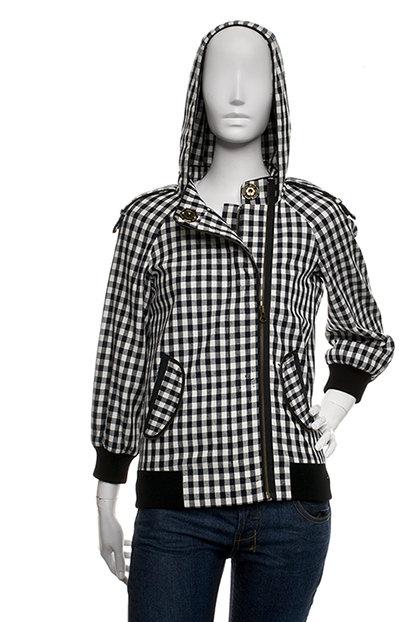 L.A.M.B. by Gwen Stefani, Check bomber jacket