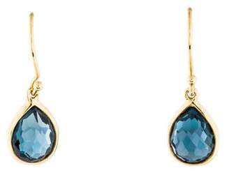 Pre Owned At Therealreal Ippolita 18k Topaz Teardrop Earrings