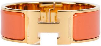 One Kings Lane Vintage HermAs Peche Melba H Bracelet - Vintage Lux