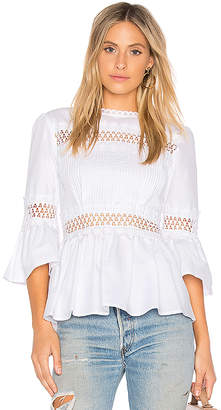 Endless Rose Pleated Blouse