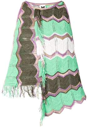 M Missoni green knitted tank top