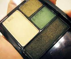 Maybelline Expert Wear Eyeshadow Quads 48Q Emerald Smokes by