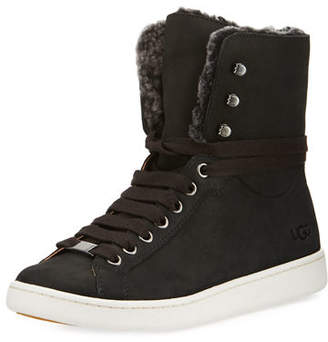 UGG Starlyn Shearling High-Top Sneakers