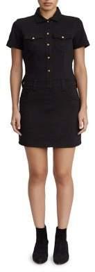 True Religion WOMENS BODYCON SHIRT DRESS