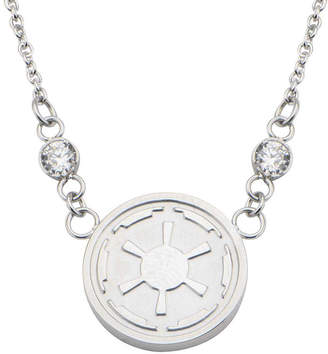 Star Wars FINE JEWELRY Stainless Steel Imperial Symbol Pendant Necklace