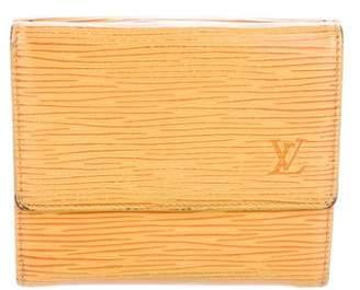 Louis Vuitton Epi Elise Wallet