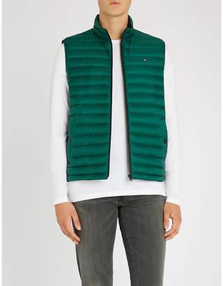 Tommy Hilfiger Padded shell-down sleeveless jacket