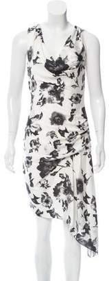 Haute Hippie Silk Printed Dress