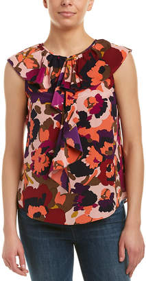 Trina Turk Thorn Silk Top
