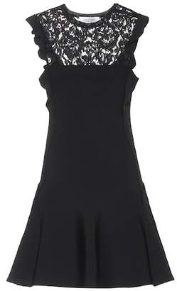 Valentino Lace-panel minidress